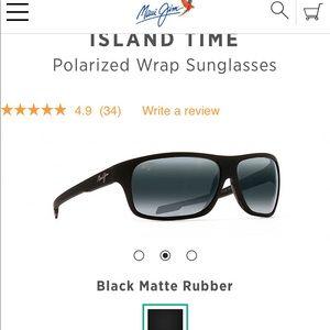 462eafa1ed7 Maui Jim Accessories - Maui Jim Island Time Polarized Sunglasses